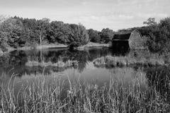 Амбар Midwest стоковая фотография
