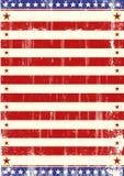Американец играет главные роли листовка Стоковое фото RF