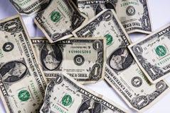американец кренит федеральный запас кучи примечаний стоковое изображение rf