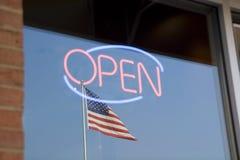 американец открытый Стоковое фото RF