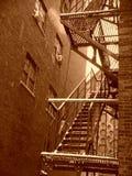 американец переулка Стоковая Фотография RF