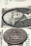 американская валюта принципиальной схемы Стоковые Фотографии RF