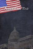 американская гордость Стоковые Изображения