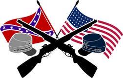 Американская гражданская война Стоковая Фотография RF