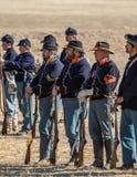 Американская гражданская война Reenactors Стоковые Изображения