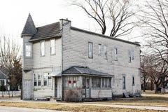 американская дом старая Стоковые Фотографии RF