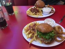 американская еда Стоковая Фотография RF