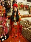 Американская индийская кукла Стоковое Изображение