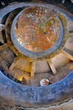американская индийская настенная роспись Стоковые Фотографии RF