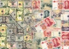 американская китайская валюта бесплатная иллюстрация