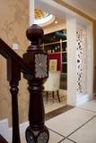 американская классицистическая комната Стоковая Фотография RF