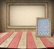 Американская комната интерьера символа Стоковые Фотографии RF