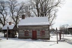 Американская колониальная дом Стоковое Изображение RF