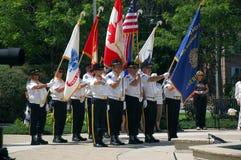 американская масса plymouth легиона ветви Стоковая Фотография RF