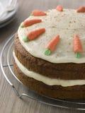 американская охладительная решетка моркови торта Стоковое Изображение RF