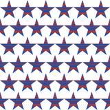 Американская патриотическая безшовная картина с striped звездами Стоковые Изображения