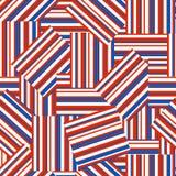 Американская патриотическая безшовная картина Стоковые Фотографии RF