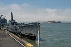 американская подводная лодка Стоковые Фото