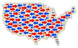 Американская политика Стоковое фото RF