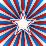 Американская предпосылка Стоковые Фотографии RF
