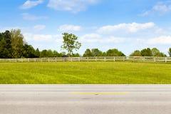 Американская проселочная дорога стоковая фотография