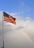 Американская радуга Стоковое Изображение RF