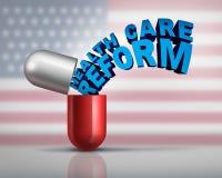 Американская реформа здравоохранения Стоковые Фото
