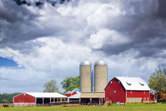 американская сельская местность стоковые фотографии rf