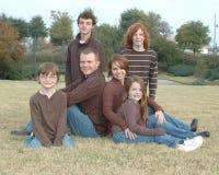 американская семья Стоковое Изображение RF