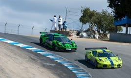 американская серия Le Mans Монтерей Стоковые Фото