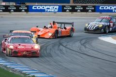 американская серия Le Mans Монтерей Стоковые Фотографии RF