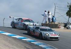 американская серия Le Mans Монтерей Стоковые Изображения RF