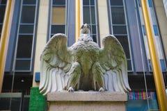 Американская скульптура белоголового орлана Стоковая Фотография RF