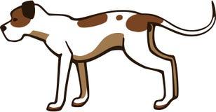 Американская собака питбуля бесплатная иллюстрация