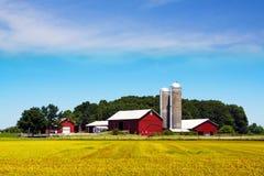 американская страна стоковое фото rf