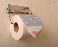 Американская туалетная бумага Стоковая Фотография