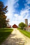 Американская ферма стоковые изображения