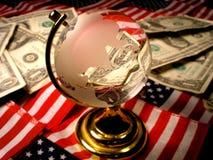американская экономия Стоковая Фотография