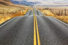 американская дорога fencings Стоковые Изображения RF
