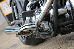 Американские автомобили и велосипеды Стоковые Фото