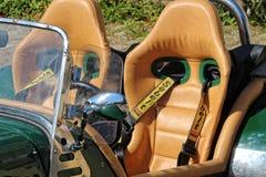Американские автомобили и велосипеды Стоковое фото RF