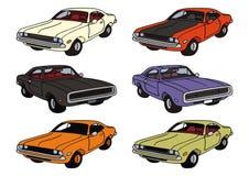 Американские автомобили Стоковое Фото