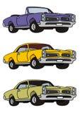 Американские автомобили Стоковые Изображения