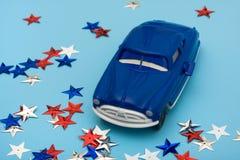 американские деньги автомобиля выкупа Стоковая Фотография