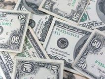 Американские деньги Стоковая Фотография RF