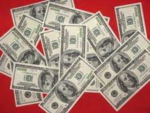 Американские доллары стоковое изображение rf