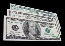 американские доллары Стоковая Фотография RF