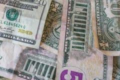 американские деньги Стоковое фото RF