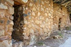 американские жилища скалы родние стоковые изображения