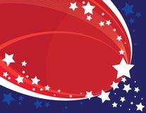 американские звезды Стоковая Фотография
